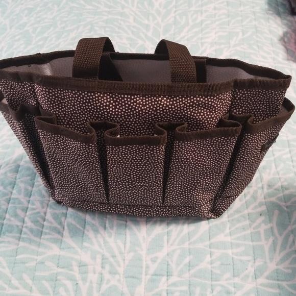 thirty-one Handbags - ThirtyOne Tote, NWOT, brown & white